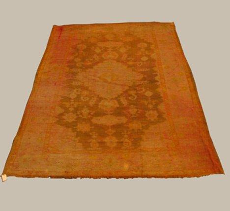 2071: Oushak carpet, west anatolia, circa late 19th c