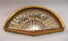 3366: Group of five cased French fans, mid/late19th cen