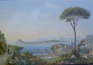 ITALIAN SCHOOL (19th-20th Century) GOLFO DI BAJA g