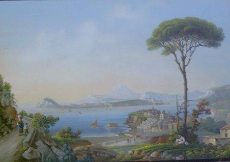 5: ITALIAN SCHOOL (19th-20th Century)  GOLFO DI BAJA  g