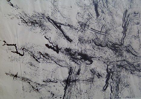 9: ABRAHAM HANKINS (American 1900-1963)  UNTITLED  ink