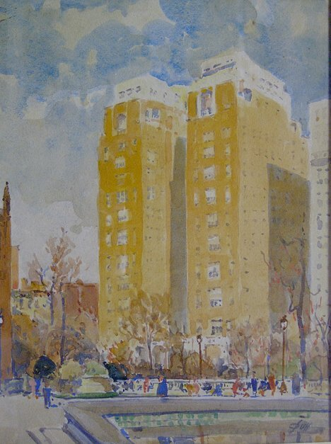 10: JOHN J. DULL (American 1859-1949)  PHILADELPHIA SCE