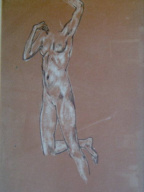 17: ARTHUR BOWEN DAVIES (American 1862-1928)  STUDY OF