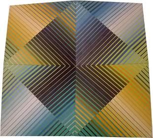YOKO HARU (American Contemporary) UNTITLED signed
