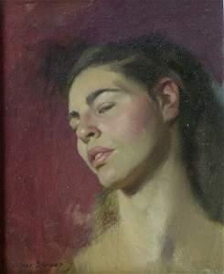 250: NELSON SHANKS (American b. 1937)  PORTRAIT OF A YO