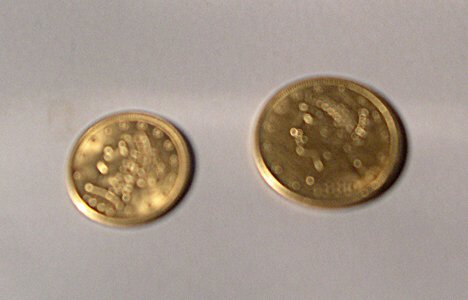 1010: 1906 U. S. TWO-AND-A-HALF DOLLAR GOLD PIECE Toget