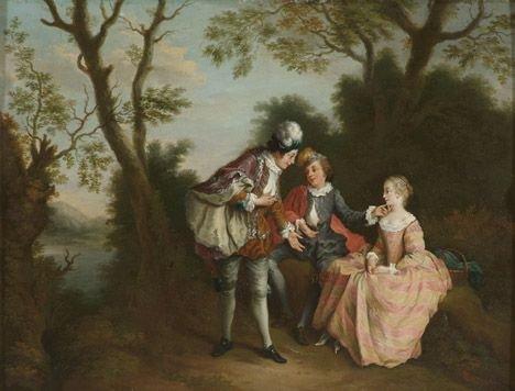 2004: FOLLOWER OF NICOLAS LANCRET (Flemish 1690-1743)