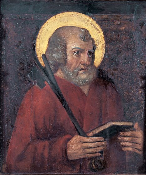 2006: SPANISH SCHOOL (15th Century)  SAINT PETER  tempe