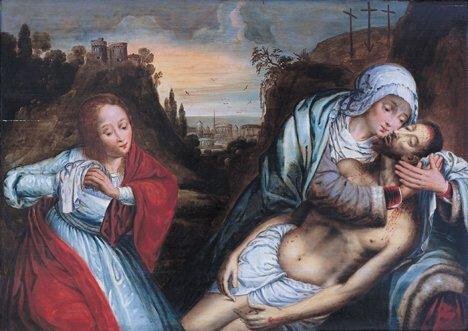 2007: FOLLOWER OF QUENTIN MASSYS (Flemish 1466-1530)  T