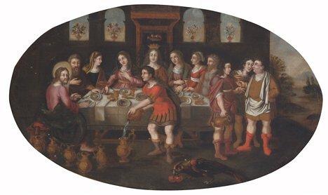 2008: GERMAN SCHOOL (17th Century)  THE WEDDING AT CANA