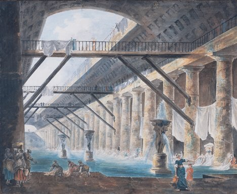 2009: ATTRIBUTED TO HUBERT ROBERT (French 1733-1808)  L
