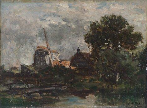 2010: JACOB HENDRICUS MARCUS MARIS (Dutch 1837-1899)  W