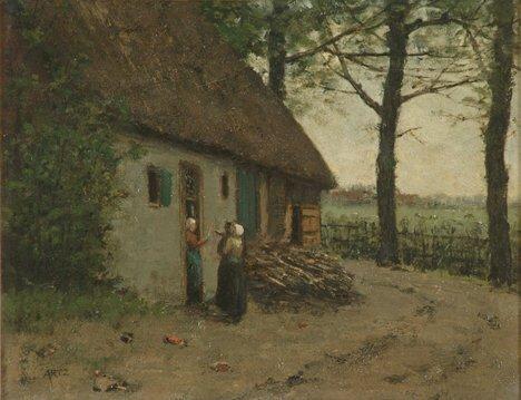 2011: DAVID ADOLF CONSTANT ARTZ (Dutch 1837-1890)  LAND