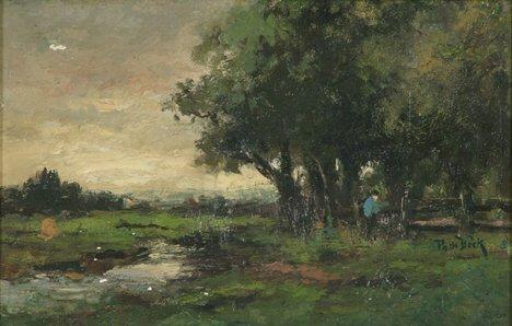 2012: THEOPHILE EMILE ACHILLE DE BOCK (Dutch 1851-1904)