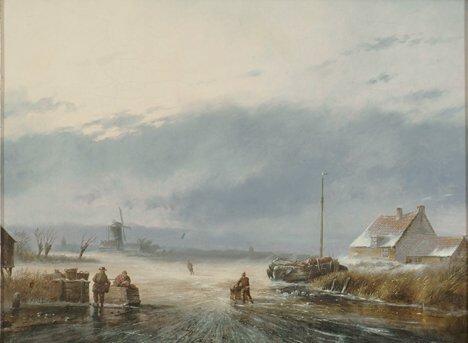 2017: NICHOLAS JOHANNES ROSENBOOM (Dutch 1805-1880)  DU