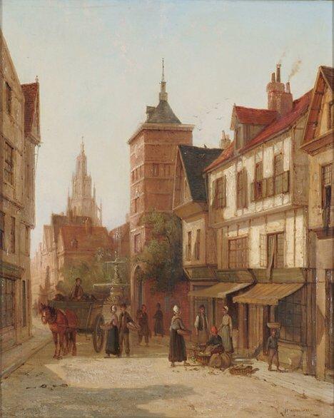 2019: WILLIAM RAYMOND DOMMERSEN (Dutch 1850-1927)  RUE