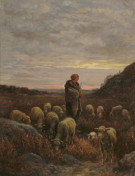 2023: JEAN FERNAND CHAIGNEAU (French 1830-1906)  A SHEP