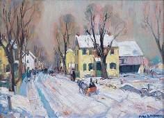 2164: ALFRED RICHARD MITCHELL (American 1888-1972) BAR