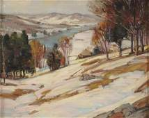 2175: ALFRED RICHARD MITCHELL (American 1888-1972) WIN