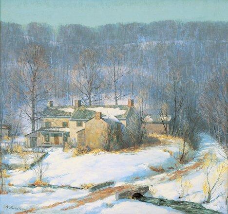 2177: KENNETH R. NUNAMAKER (American 1890-1957)  TONY'S