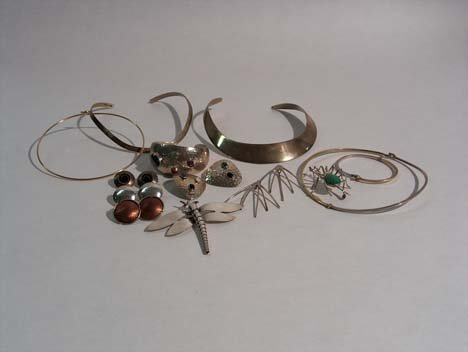 3001: ASSORTED STERLING SILVER & GOLD-FILLED JEWELRY 20