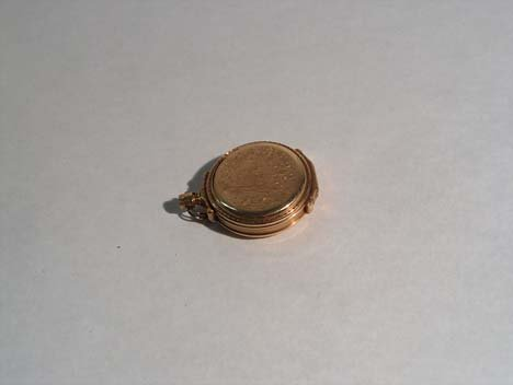 3013: HAMPDEN POCKET WATCH Late 19th / 20th c. With 14k