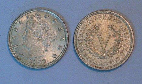 18B: Twenty-Two 'Liberty Head' Nickels, , All dated 188