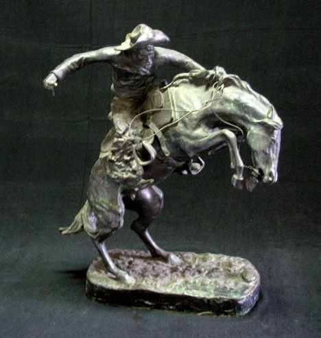 2580: After Frederic Remington (American 1861-1909), br