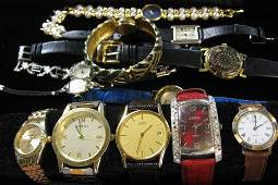 1053 Eleven Assorted Ladys and Two Gentlemens Wrist