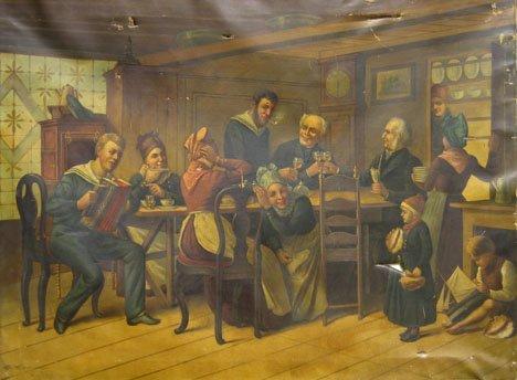2414: E. MITCHELL - THE RETURN OF THE SAILORS, scandina