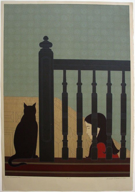 1014: WILL BARNET, (AMERICAN B.1911), THE BANNISTER