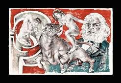 1096: HANS ERNI, (SWISS B. 1909) PORTFOLIO OF TWELVE CO