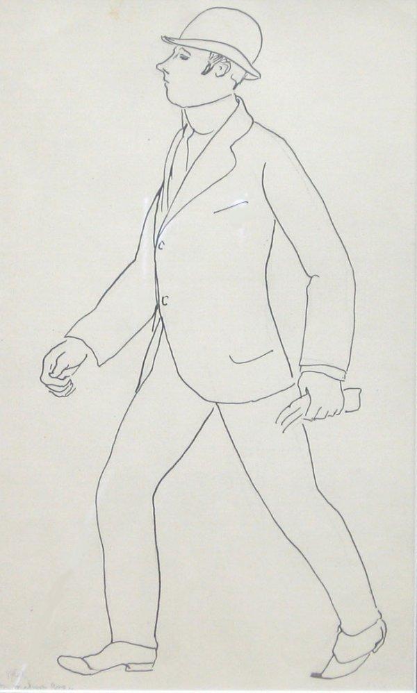 1: JULIUS BLOCH, (AMERICAN, 1888-1966), ON MADISON AVEN