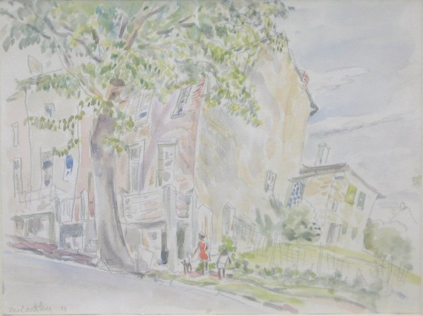 2: FRANCIS MCCARTHY, (AMERICAN, 1921-2005), SUMMER DAY