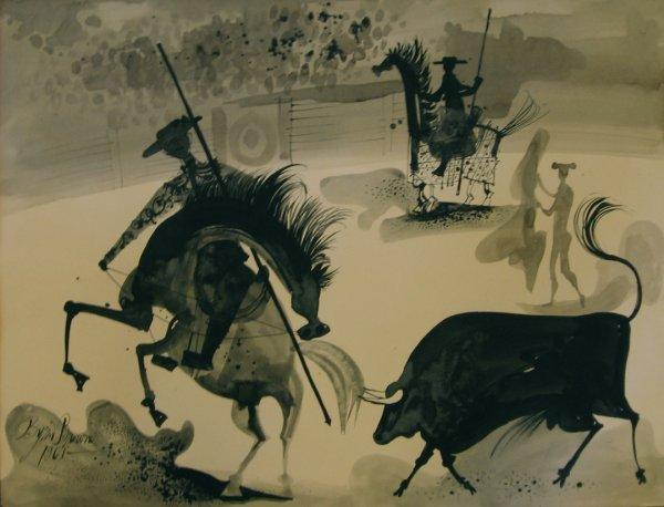 3: BYRON BROWNE, (AMERICAN, 1907-1961), THE MATADOR