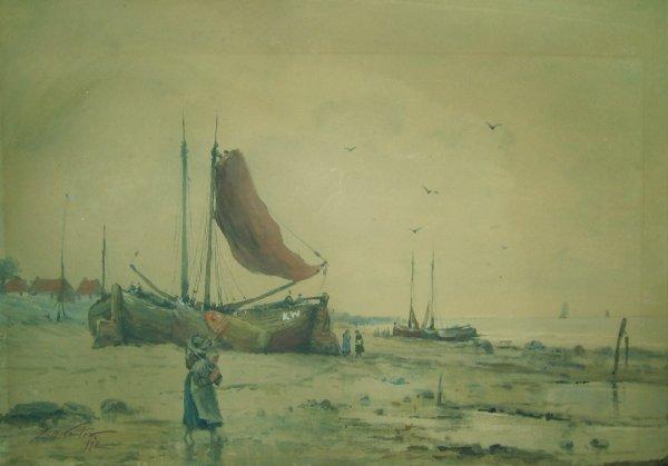 5: FERNANDO A. CARTER, (AMERICAN, 1855-1931), ALONG THE