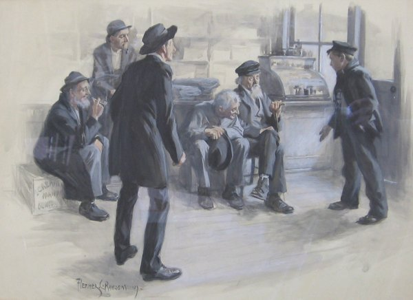 13: FLETCHER C. RANSOM, (AMERICAN, 1870 - 1943), THE ME