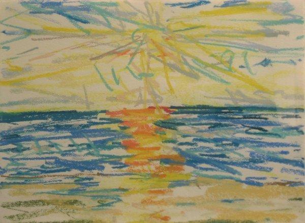17: SANDY WALKER, (AMERICAN, B. 1942), SEA ISLAND MORNI