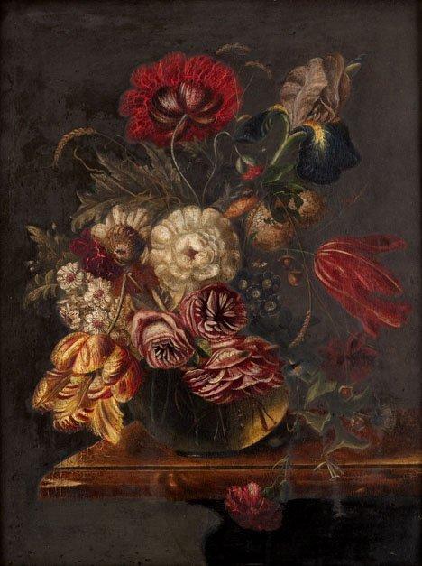 2005: FOLLOWER OF ALBERT MIGNON, (GERMAN 1640 - 1679),
