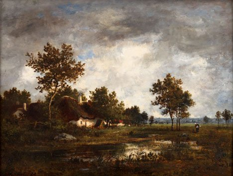 2022: LEON RICHET, (FRENCH 1847 - 1907), HOMEWARD BOUND
