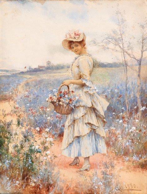 2026: ALFRED GLENDENING JR, (BRITISH 1861 - 1907), GATH