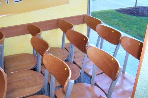 "108: Wooden Side Chair- ""Waymar"""