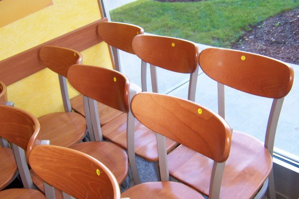 "115: Wooden Side Chair- ""Waymar"""