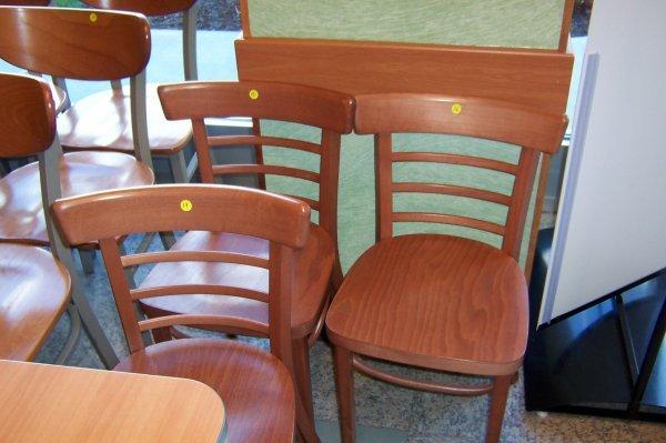 "120: Wooden Side Chair- ""Waymar"""