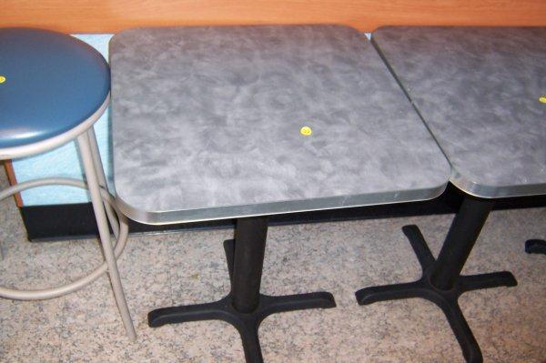 127: 2'x2' Table, Gray