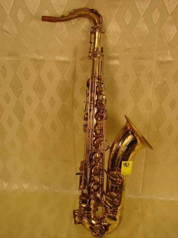90: Selmer Mark VI Tenor Saxophone, 1968, serial # 1565