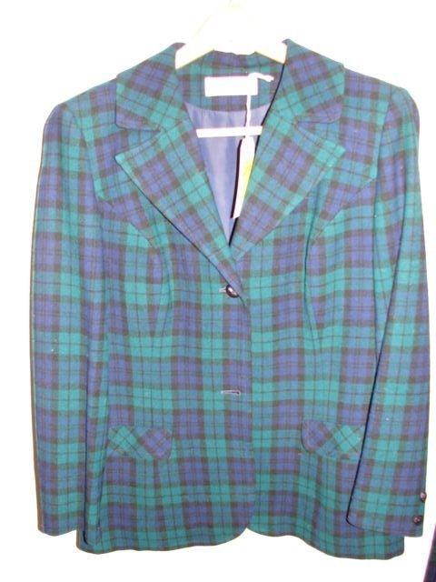 603: Pendleton 3 pc. wool slacks set, size 16 pants, ve