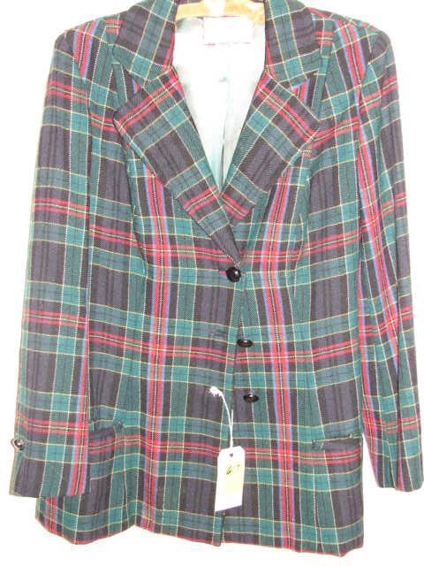 617: Jacket by Toy Town Tailleurs, Winchendon, MA, blue
