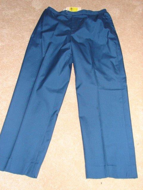 """622: L.L. Bean blue trousers, size 18, 22"""" in seam."""