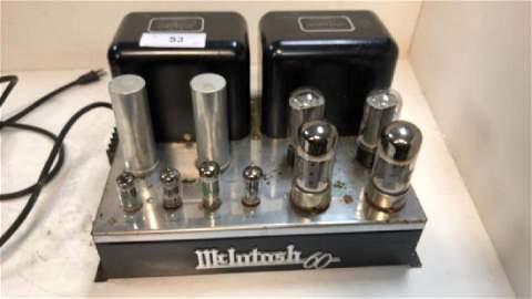 McIntosh MC 60, stereo tube power amp, w/ tubes,